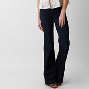 Free People Flare Wide Leg Dark wash jeans NWT 30